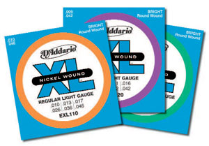 D'Addario XL Electric Guitar Strings