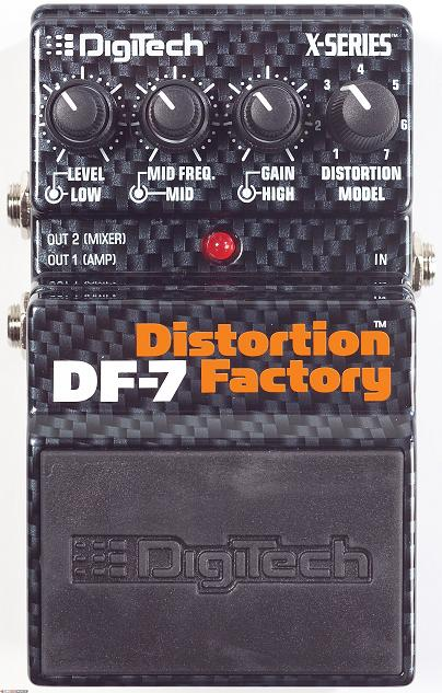 Digitech DF-7 Distortion Factory Pedal