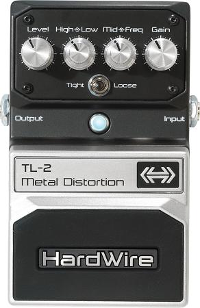 Hardwire TL-2 Metal Distortion Pedal