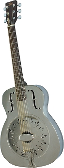 Rogue Classic Brass Body Resonator Guitar