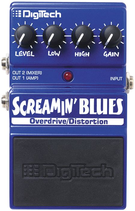 Digitech Screamin' Blues Distortion Pedal
