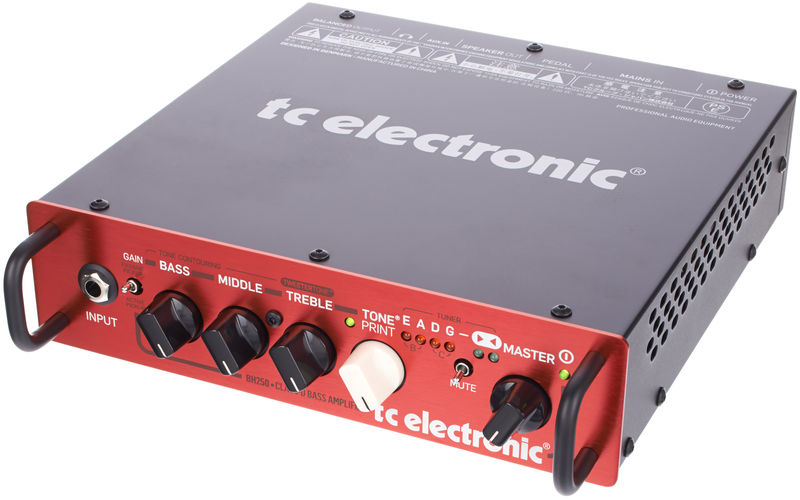 cheap bass amp head by TC Electronic