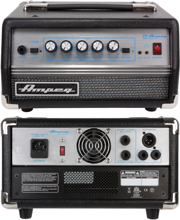 Ampeg Micro VR bass amp head