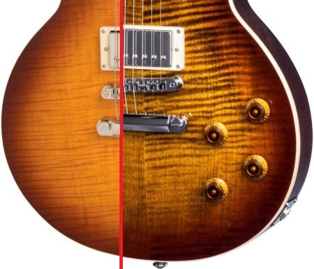 Epiphone vs Gibson Les Paul finishes