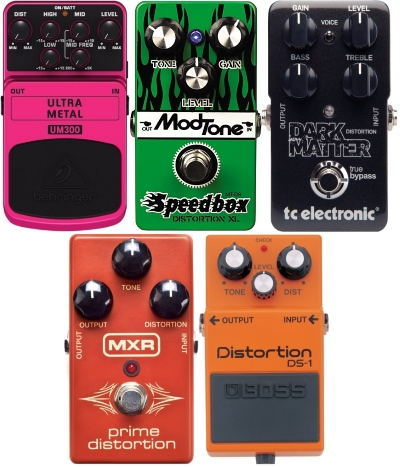cheap distortion pedals