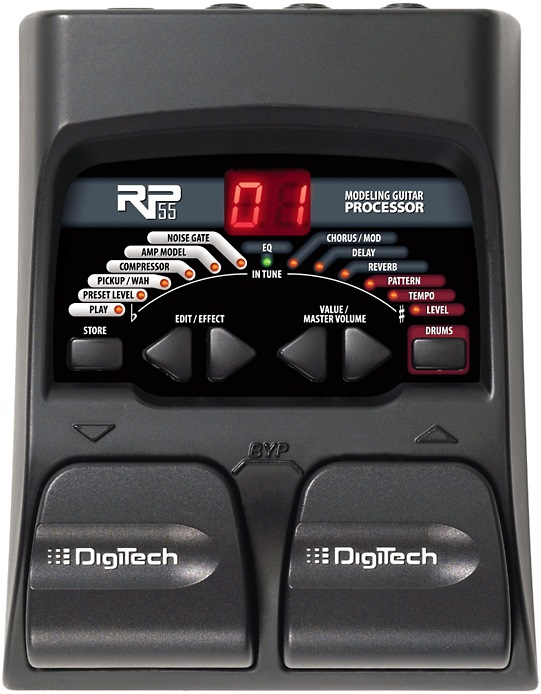 DigiTech RP55 multi effects pedal