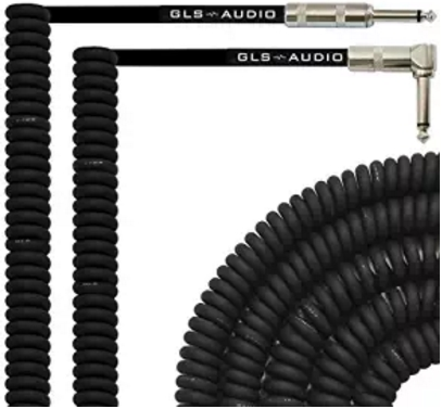 GLS Audio curly guitar cable