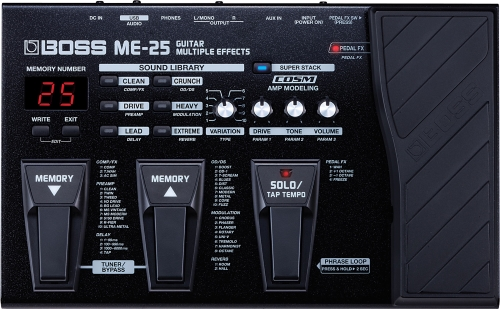 multi-effects pedal