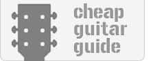 logo for cheapguitarguide.com