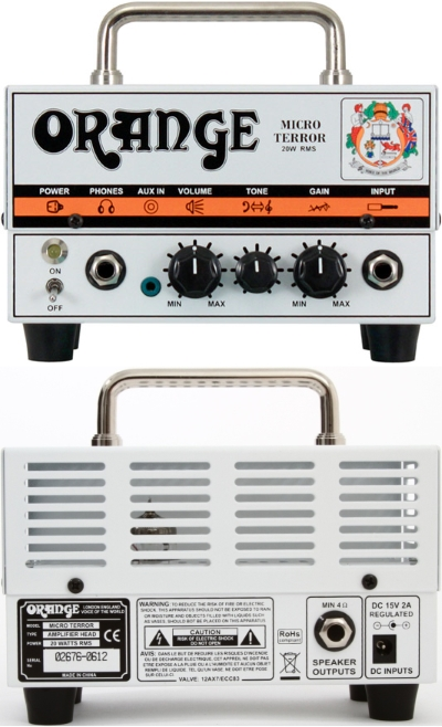 Orange Micro Terror Tube Amp Head