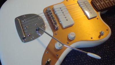 Close up of the J Mascis Jazzmaster