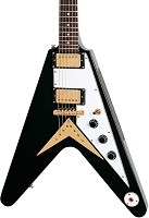 V shaped electric guitar